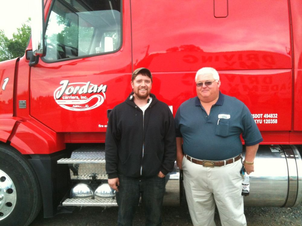 CDL truck driver training graduate from Diesel Driving Academy