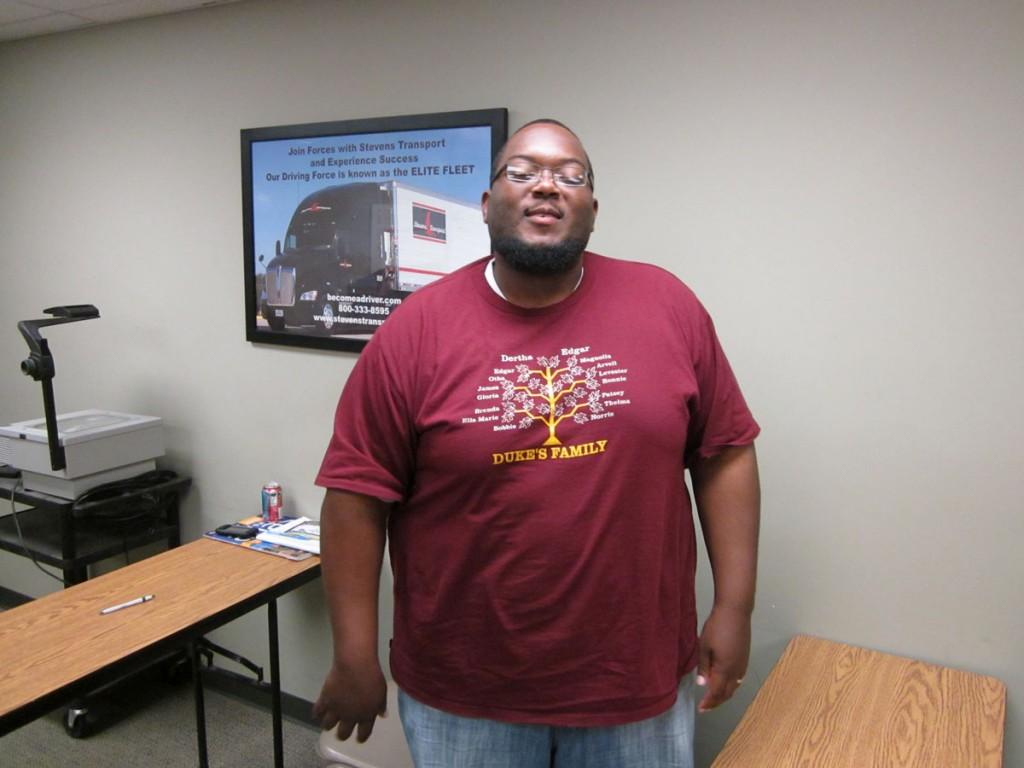 DDA Little Rock student Broderick Martin