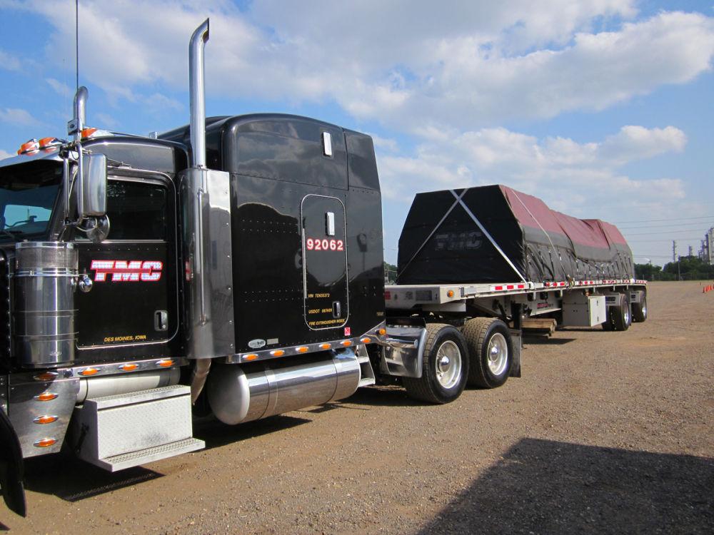 David Pierce's truck