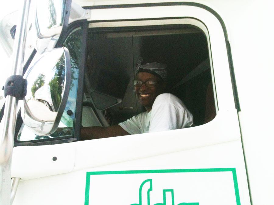 DDA CDL Trucking School Graduate L.Allen
