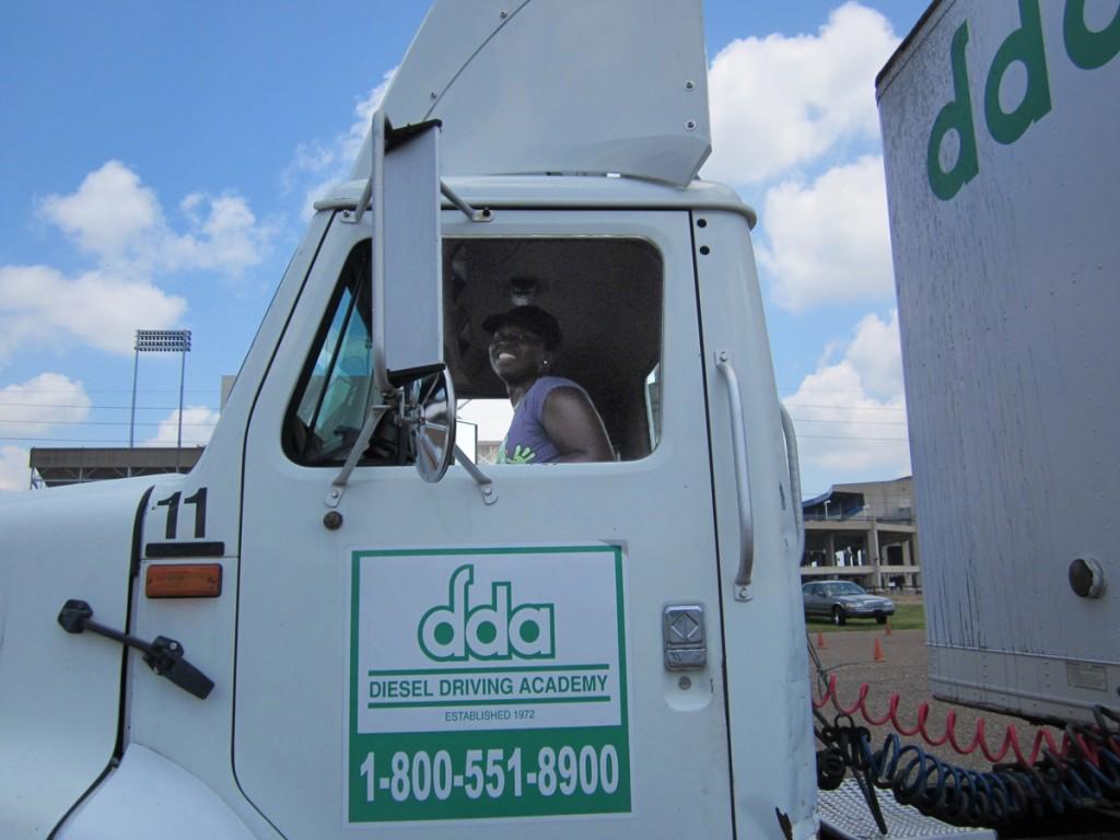 DDA Shreveport CDL student Jessica Williams