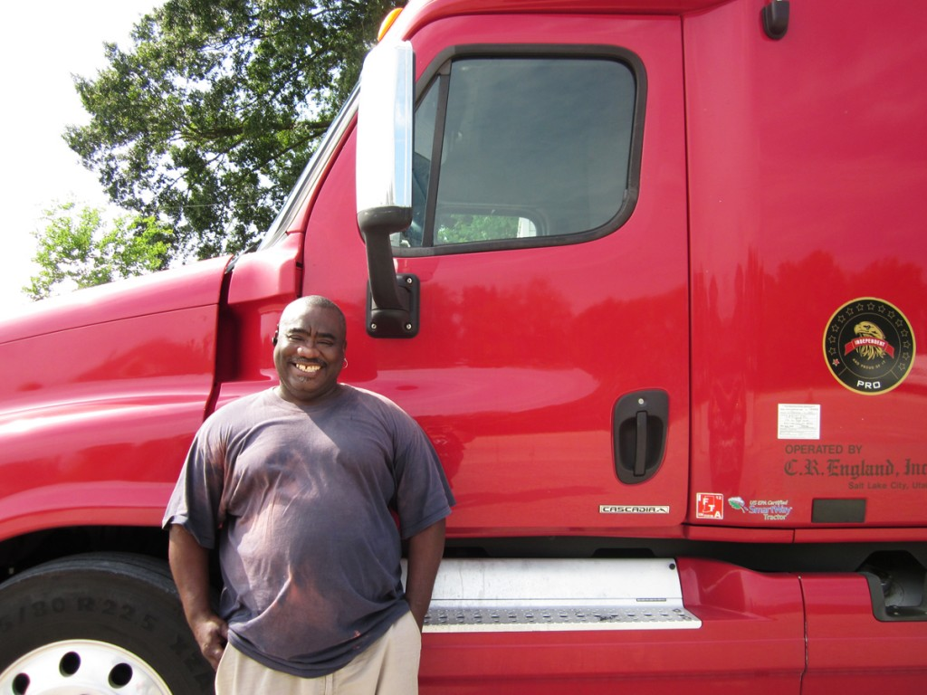 James Magee CDL graduate from DDA Baton Rouge