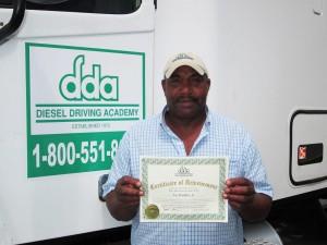 DDA CDL gradate Joe Waddles Jr.