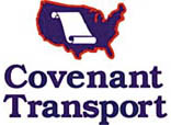 Covenant Transport recruiter at Diesel Driving Academy in Baton Rouge 10/2