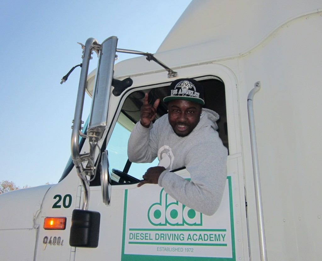 DDA Baton Rouge CDL training graduate