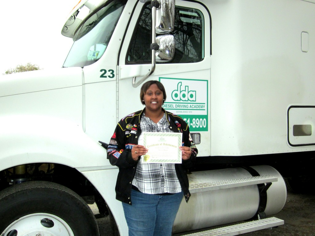 CDL graduate Beverly Maxie