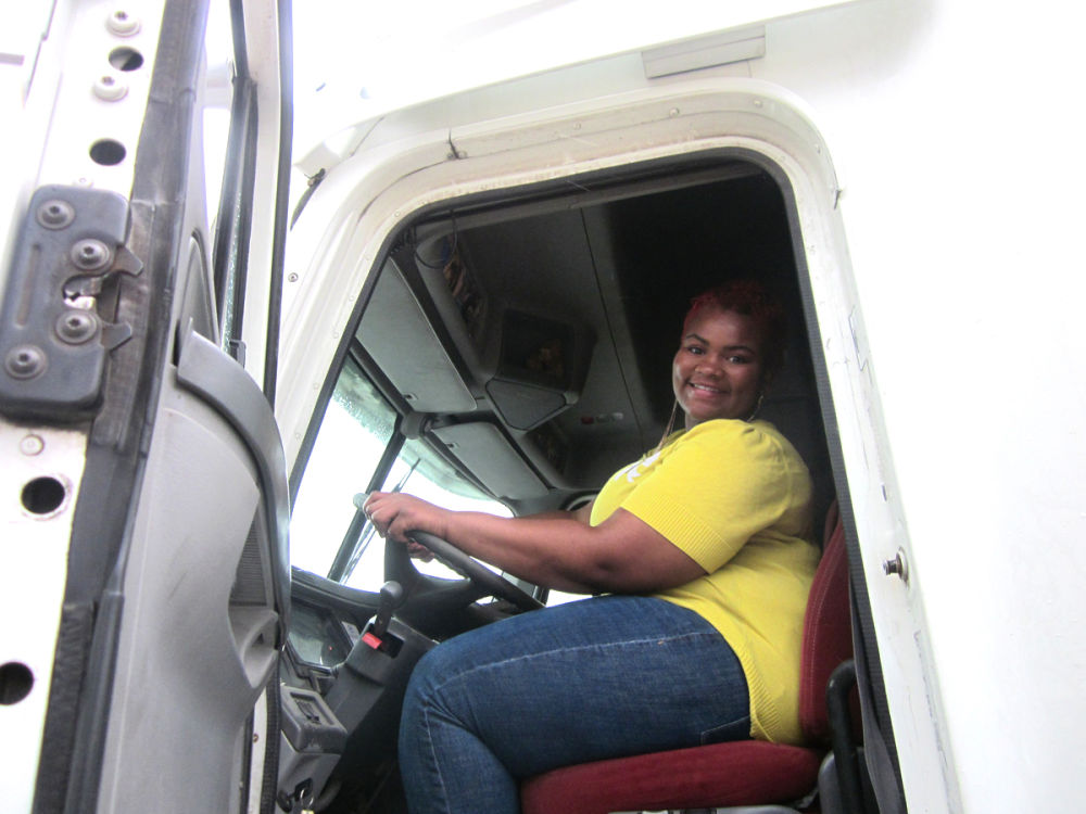 Ericka Carey passes final CDL test