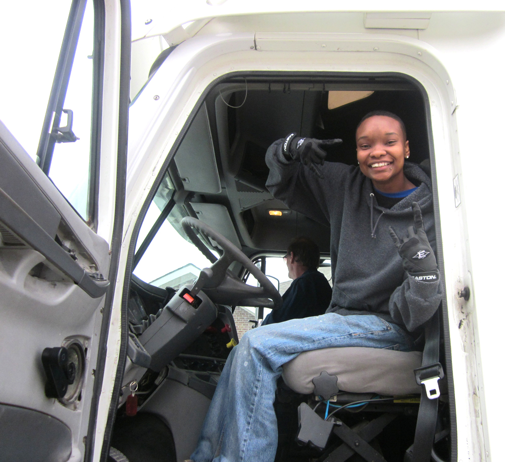 Janice Anthony passes final CDL test
