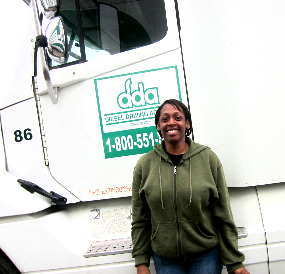 Rhonda Ross passes final CDL test