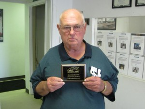 DDA instructor Clifford Cannon with CVTA plaque