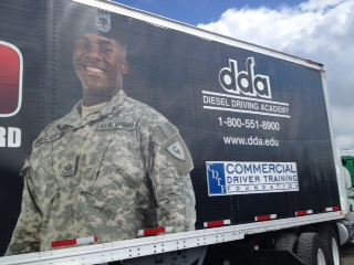 Military Veteran info at DDA Little Rock open house