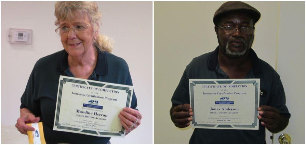 DDA instructors work for CVTA certifications