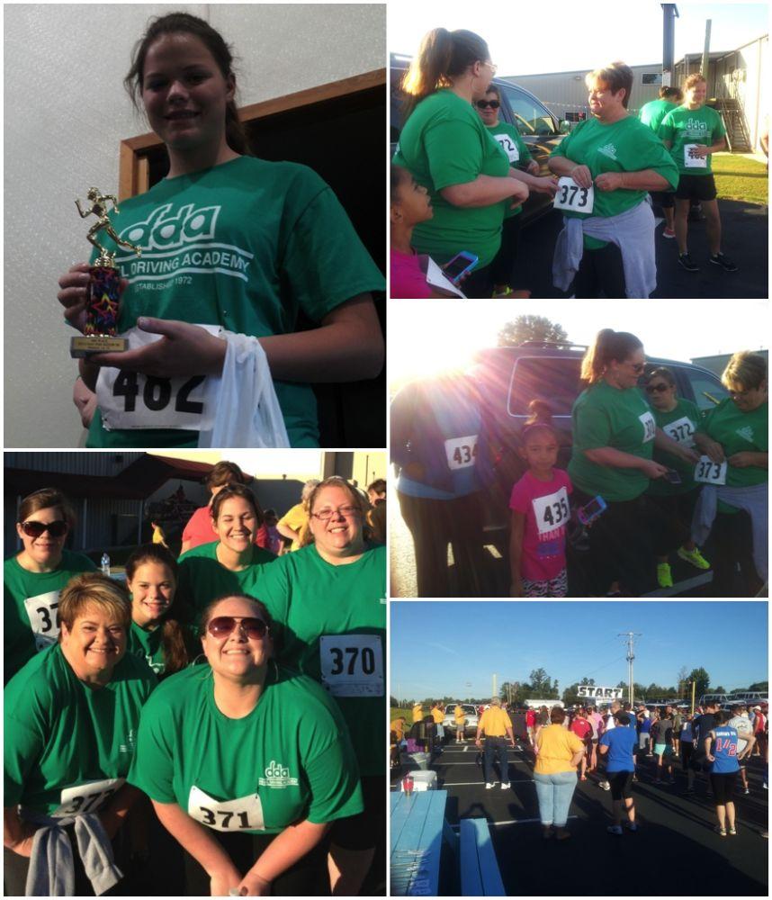 5k race runners