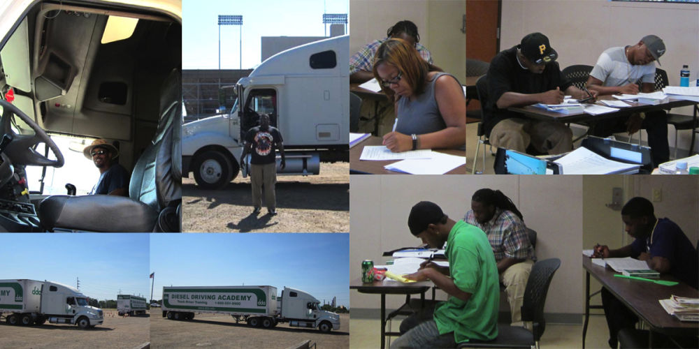 stages of CDL training at DDA
