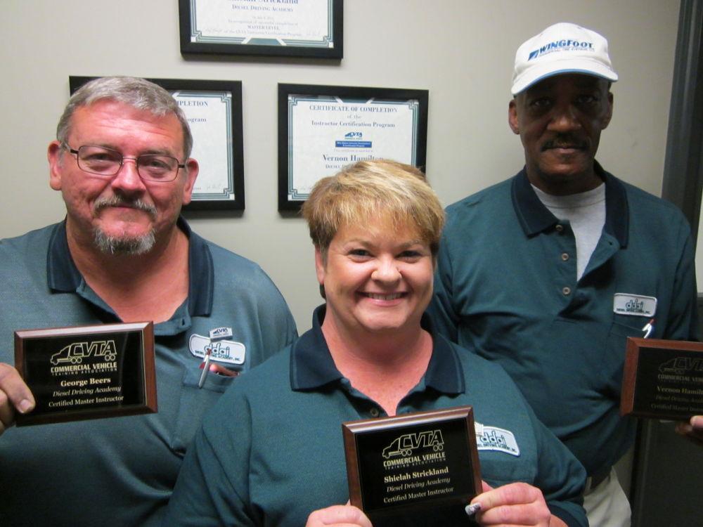 CVTA instructors at DDA Little Rock