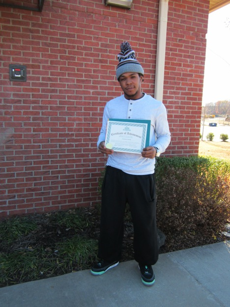 DDA graduate Antonio Smith