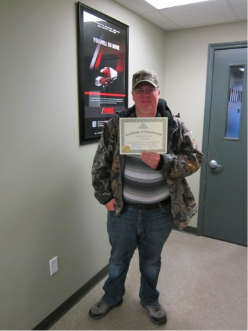 CDL graduate Collin Maples