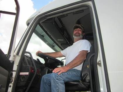 CDL graduate Lonnie Little