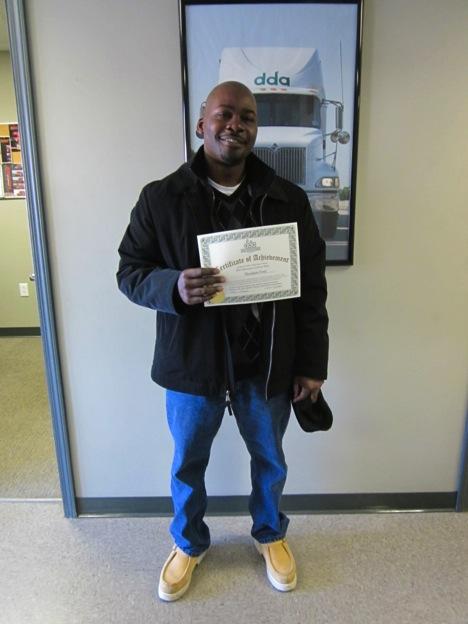 CDL graduate Theodore Ford