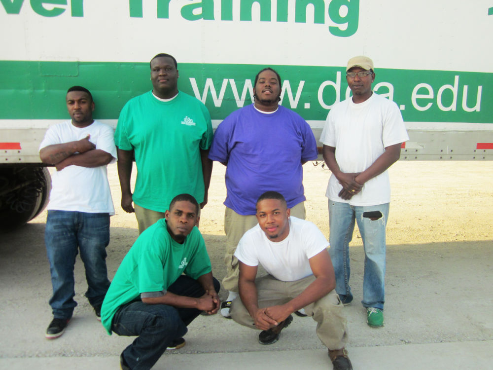 CDL gradautes from August Advanced class