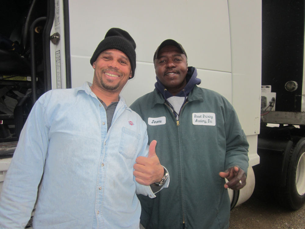 CDL graduate Kevin Lawrence