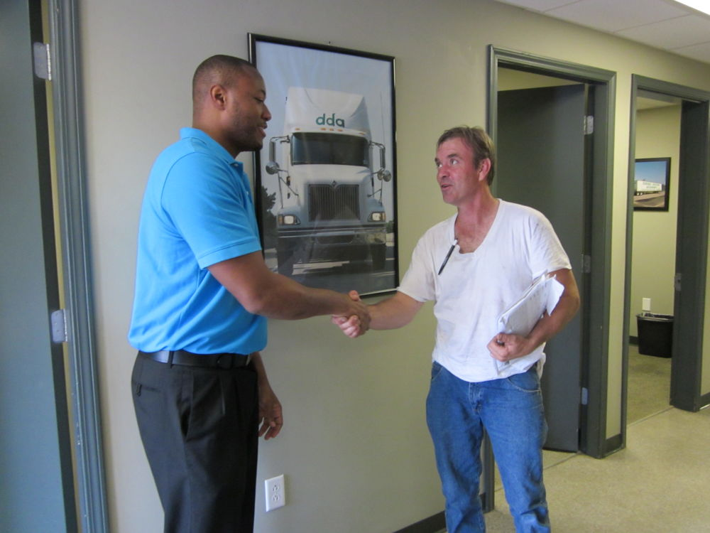 New CDL student at DDA LIttle Rock