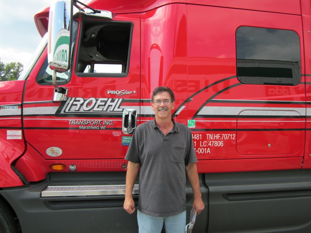 DDA graduate Donald Deitz now driving for Roehl