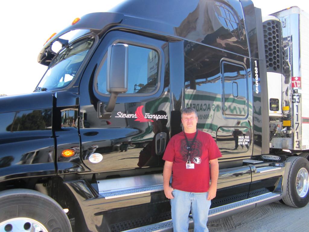 truck graduate Mike Bates
