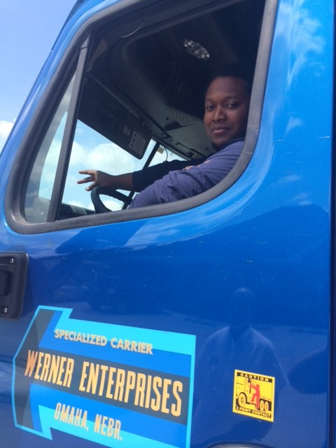 DDA graduate now driving for Werner Enterprises