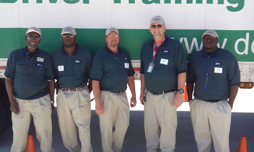 CDL instructors at Diesel Driving Academy, Atlanta campus