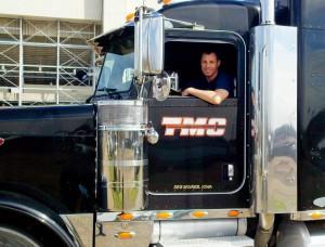 CDL Graduate Scott Morre at Diesel Driving Academy in Shreveport
