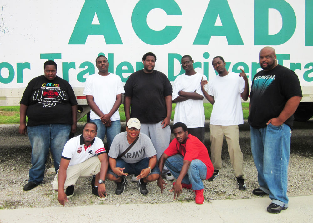 CDL graduates from Diesel Driving Academy in Baton Rouge