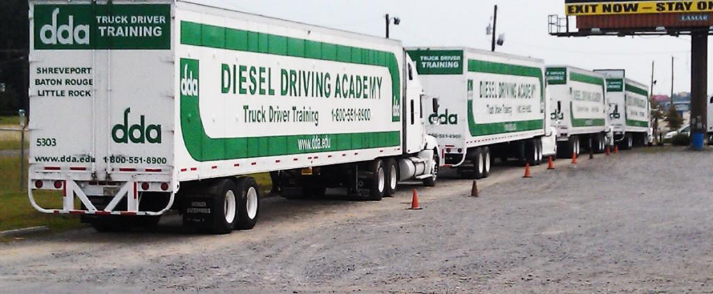DDA trailers parking for Carrer Fair 9/21 Little Rock campus