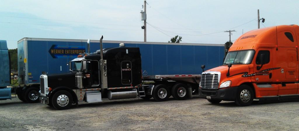 Werner Enterprises, TMC Transport, Schneider National at DDA Career Fair Little Rock cmapus 9/21