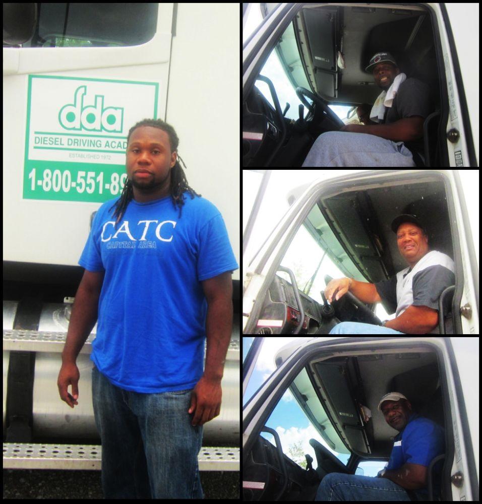 July CDL graduates from DDA Baton Rouge