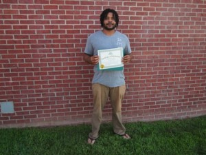 new DDA graduate Kenneth Harper