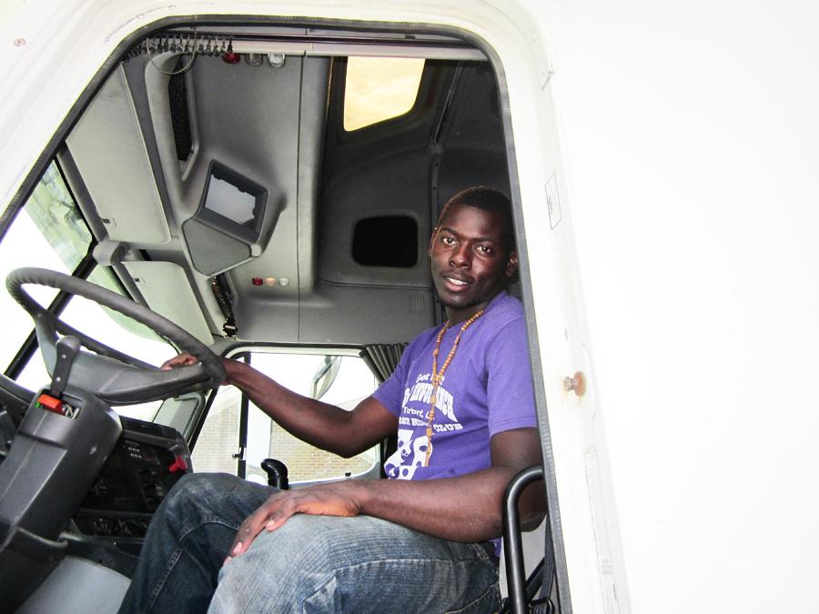 DDA graduate Tyrone Johnson