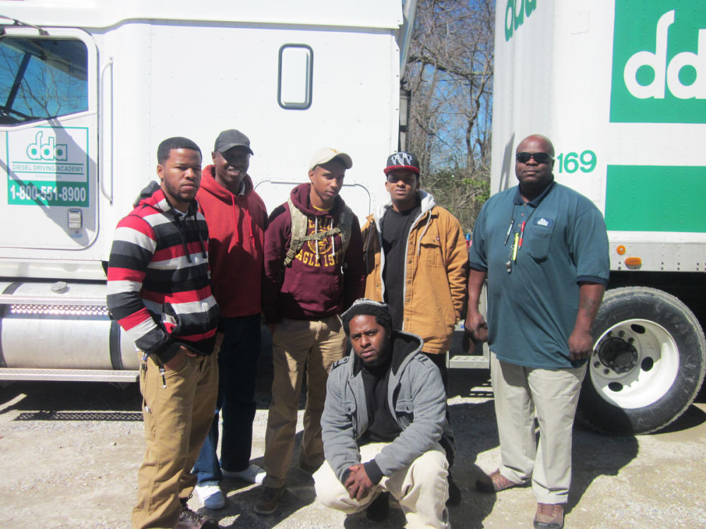 students from the November Advanced CDL Class