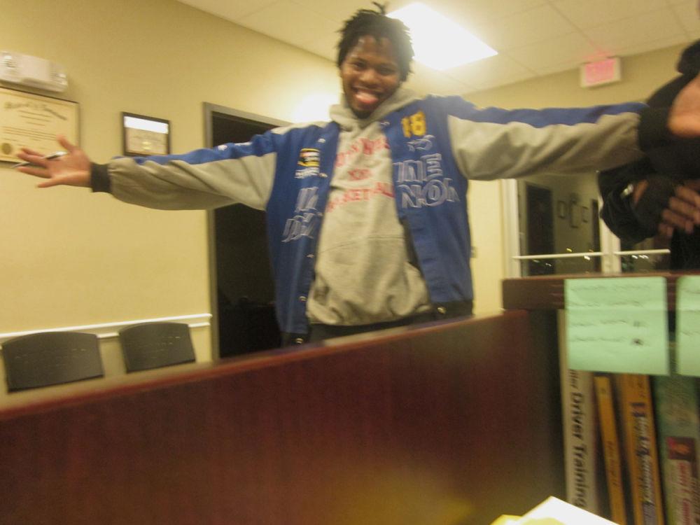 DDA CDL student Otis Smith