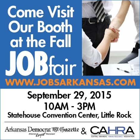Sept 29 Job Fair in Little Rock, AR