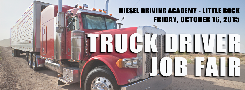 DDA Little Rock Trucker job fair, October 16, 2015