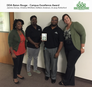 DDA Baton Rouge - Campus Excellence Award