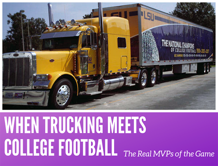 lsu equipment truck